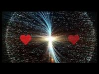 two hearts pulsing